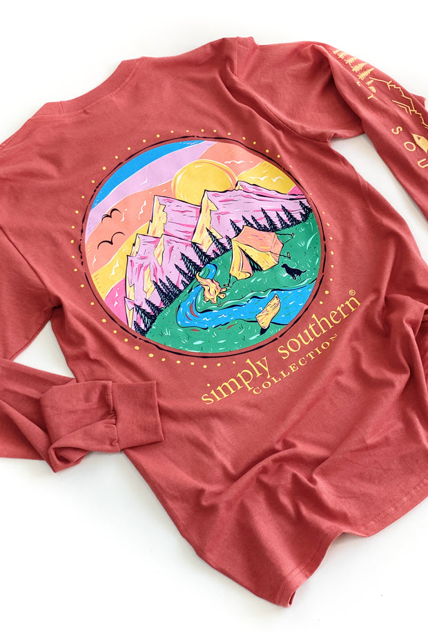 Camp Spice Simply Southern L/S T-Shirt