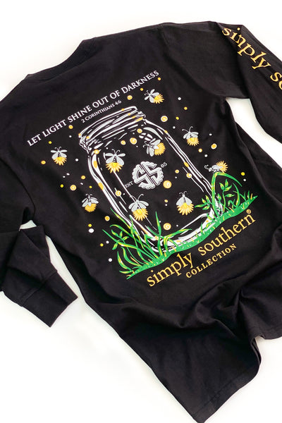 Shine Out Simply Southern L/S T-Shirt - SALE