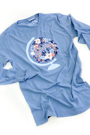 """Peace On Earth"" Graphic Tee L/S"