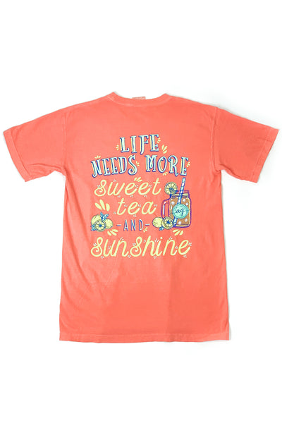 """Sweet Tea Sunshine"" Anna Grace S/S T-Shirt"