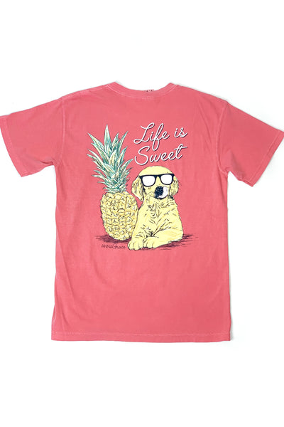 """Life Is Sweet"" Anna Grace S/S T-Shirt"