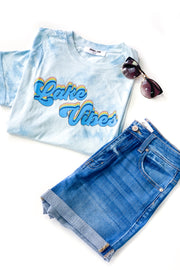 Lake Vibes Tie-Dye Top