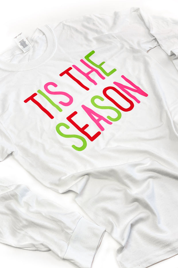 """'Tis The Season"" Graphic L/S Tee"