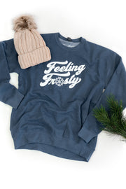 """Feeling Frosty"" Crew Sweatshirt"
