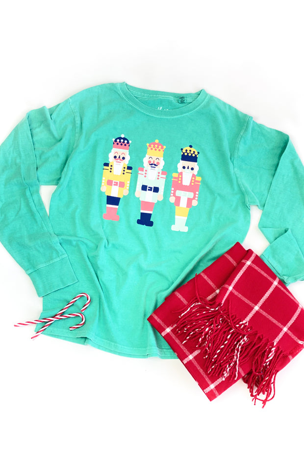Christmas Nutcracker Graphic L/S Tee