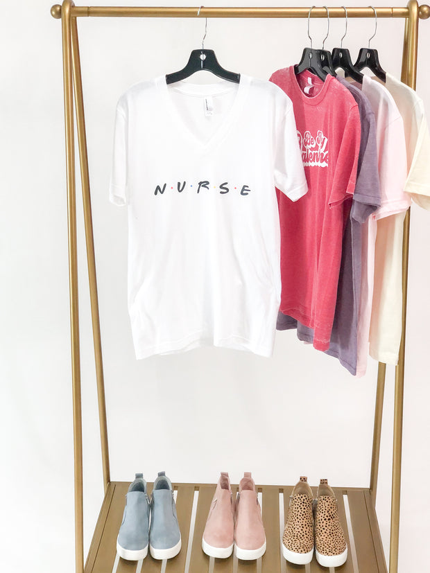"""Nurse"" Friends Graphic Tee"