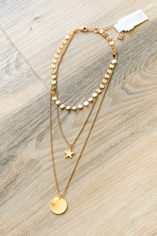 Lydia Necklace Gold