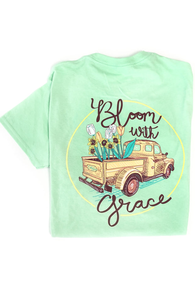 """Bloom With Grace"" Chloe Lane T-Shirt S/S"