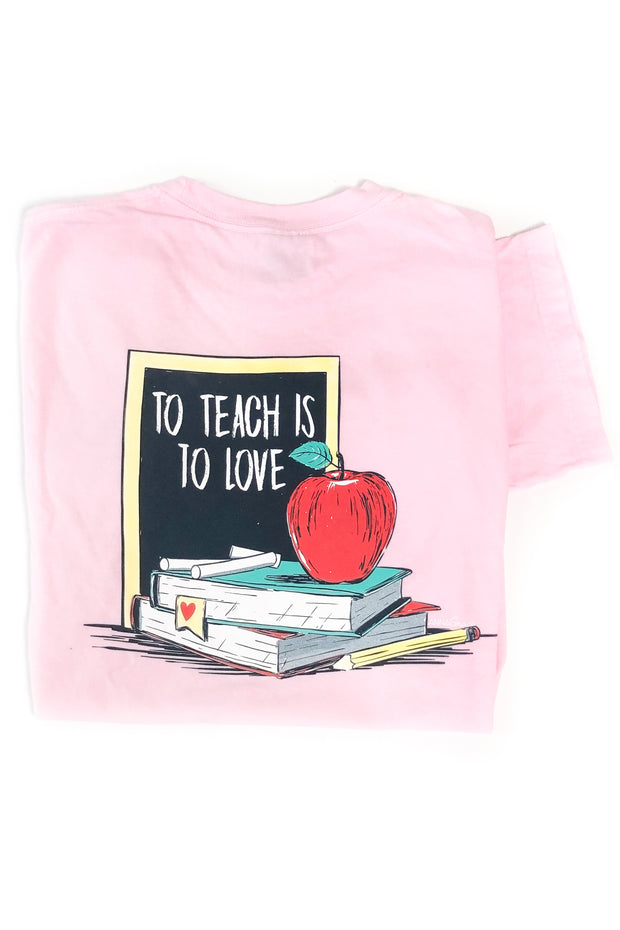"""Teach Love"" Anna Grace T-Shirt S/S"
