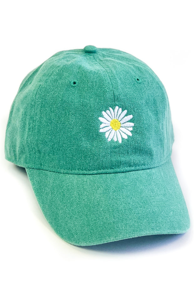"""Fresh As A Daisy"" Embroidered Ball Cap"
