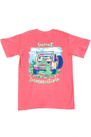 """Sweet Summertime"" Anna Grace S/S T-Shirt"