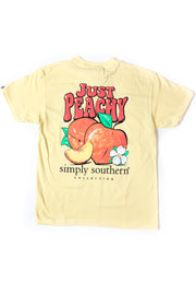YOUTH Just Peachy Simply Southern T-Shirt S/S