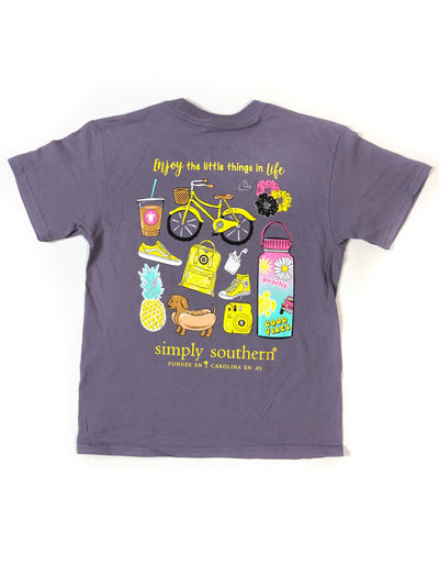 YOUTH Enjoy Simply Southern T-Shirt S/S