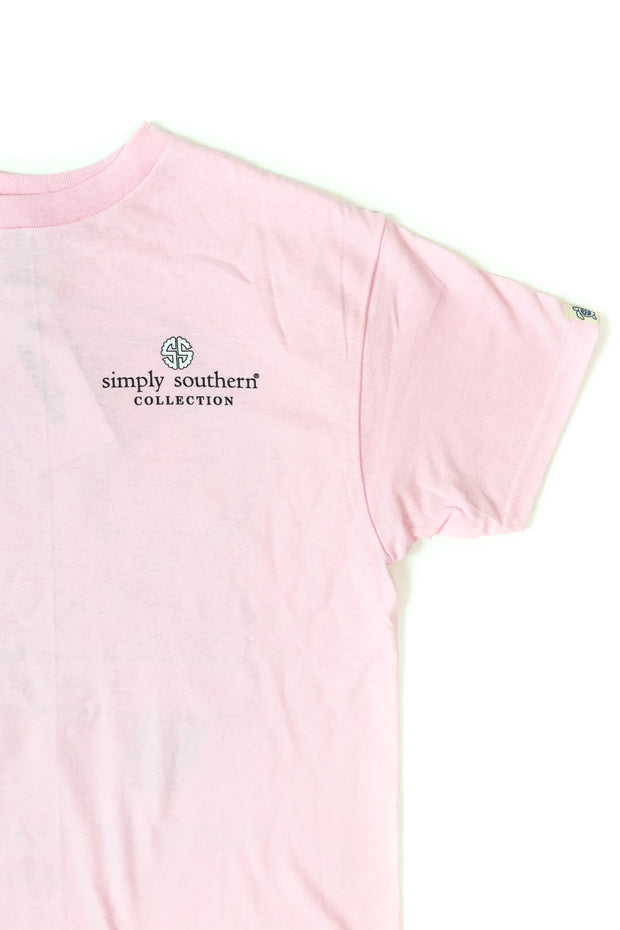 YOUTH Happy Easter Simply Southern T-Shirt S/S