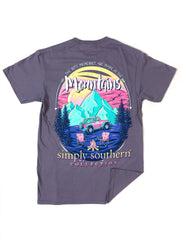 Mountain Memories Simply Southern T-Shirt S/S