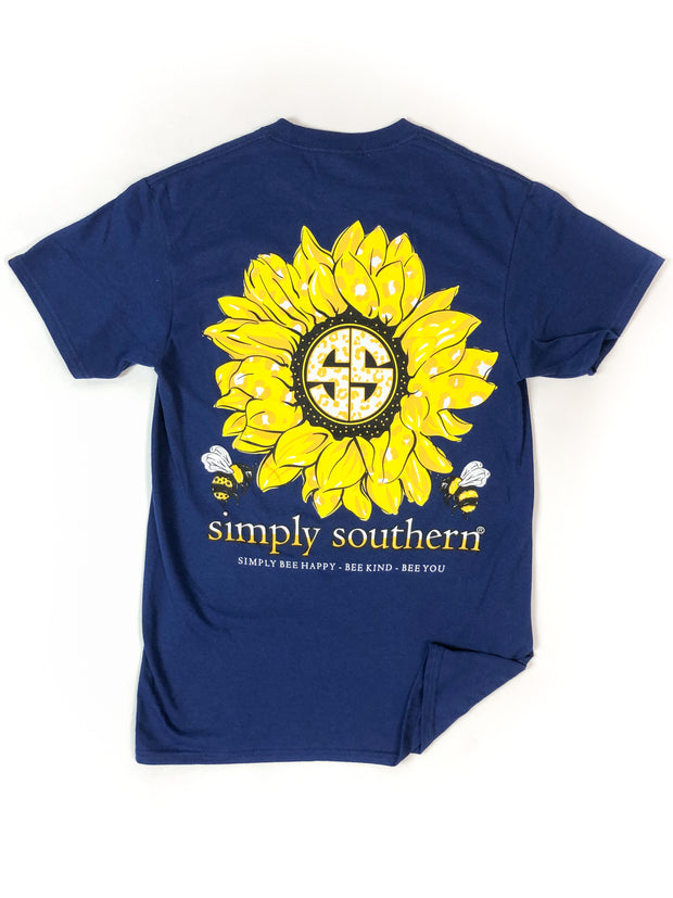 Sunflower Simply Southern T-Shirt S/S
