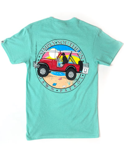 Patrol Jeep Simply Southern T-Shirt S/S