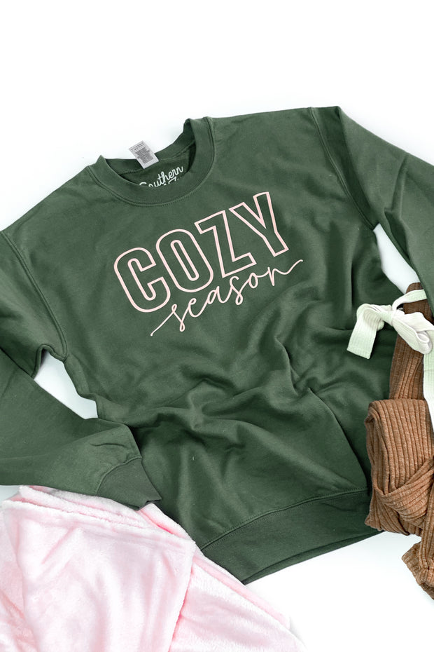 """Cozy Season"" Graphic Sweatshirt"