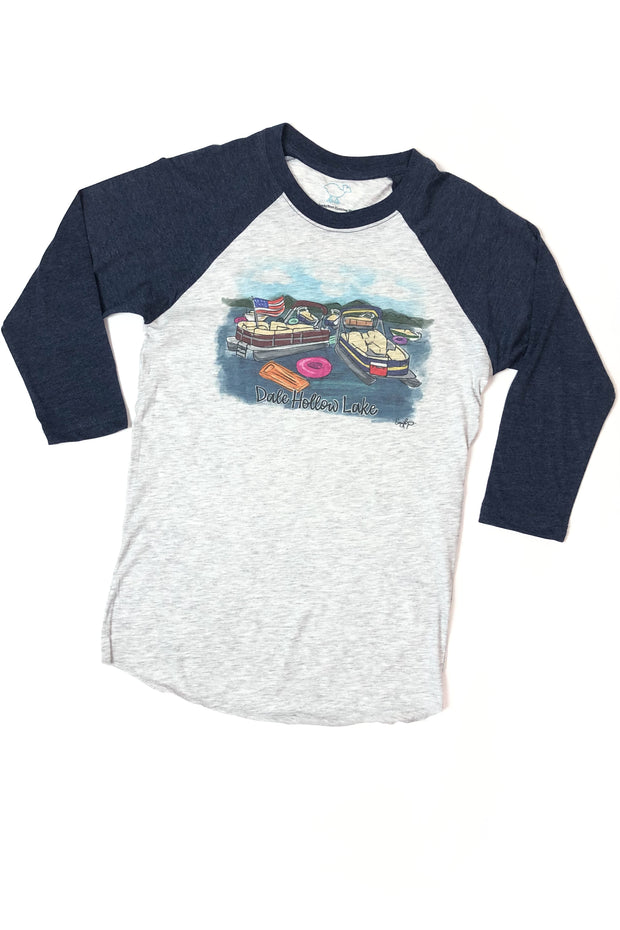 Dale Hollow Lake Pontoon Raglan