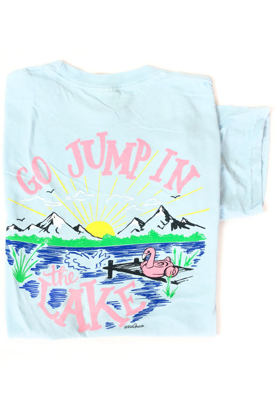 """Jump in the Lake"" Anna Grace T-Shirt S/S"