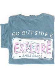 """Explore"" Anna Grace T-Shirt S/S"