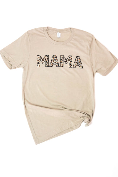 Mama Leopard Graphic Tee