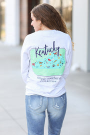 Kentucky Scene Simply Southern L/S T-Shirt