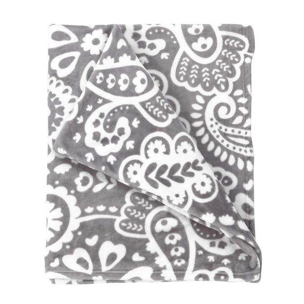 Parker Paisley Throw Blanket