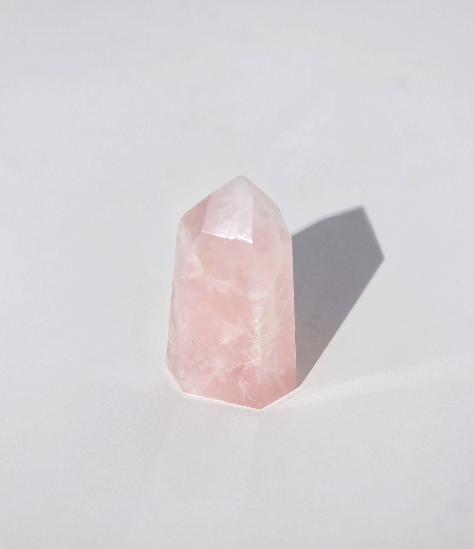 Rose Quartz Pillar | Polished