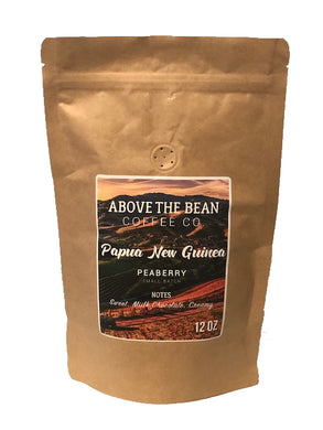 Single Origin Coffee Beans | Papua New Guinea Peaberry - Fruits To Go NYC