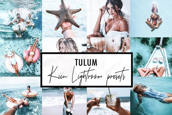 9 TULUM LIGHTROOM MOBILE & DESKTOP PRESETS
