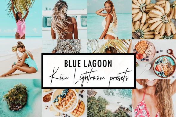 5 BLUE LAGOON LIGHTROOM MOBILE & DESKTOP PRESETS