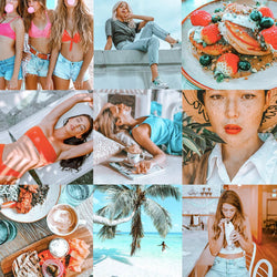 6 COLOUR POP LIGHTROOM MOBILE PRESETS