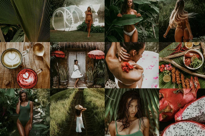 BALI TRAVEL BLOGGER PRESETS