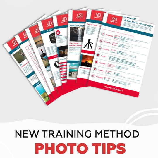 Photo Tips training Cards