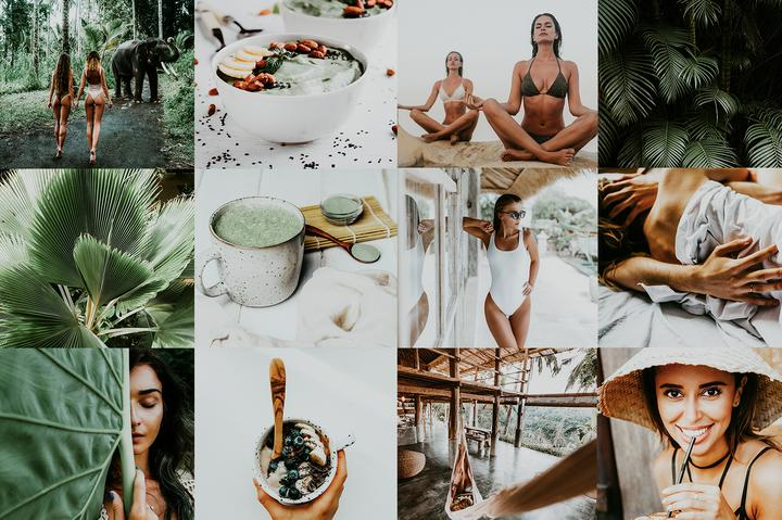 4 HEALTHY LIFESTYLE LIGHTROOM MOBILE PRESETS