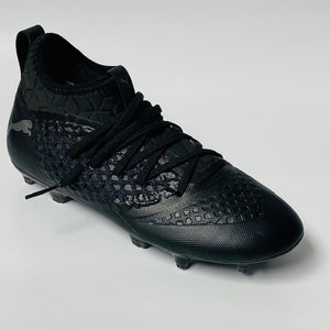 Puma Future Knit Black FG/AG JNR