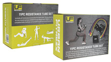 Load image into Gallery viewer, Urban Fitness 11pc Resistance Tube Set