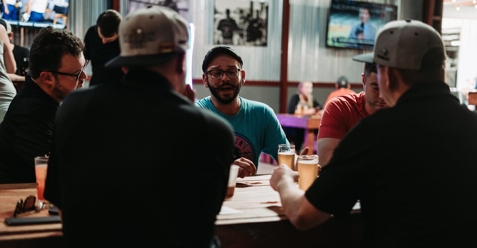 Beer Chronicle Team at No Label Interview
