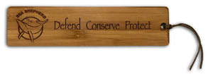 Sea Shepherd Bamboo Bookmarks
