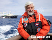 Load image into Gallery viewer, Paul Watson Photos