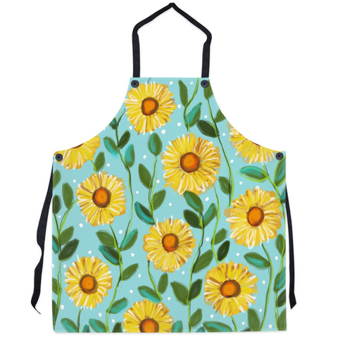 You are my Sunshine/ Pale Turquoise Aprons