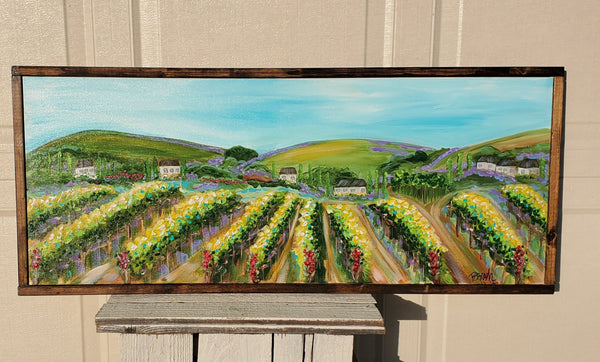 De Portola Road 16x40 (framed)
