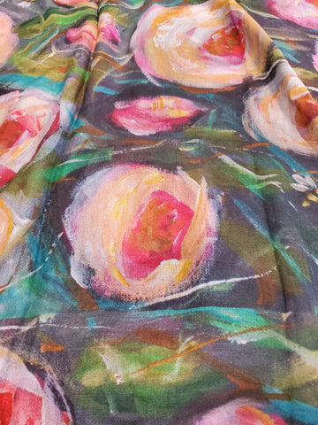 Sweet Spring Art Scarf