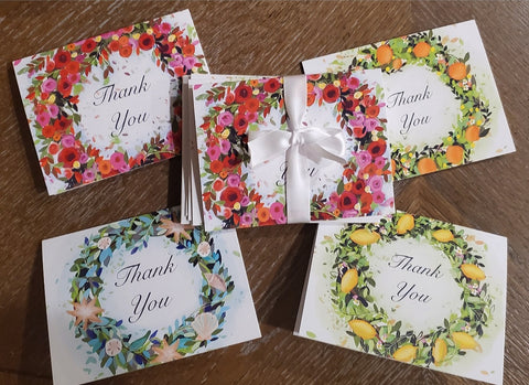 Thank You note cards (set of 8)