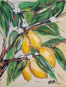 Lemon Tree 9x12