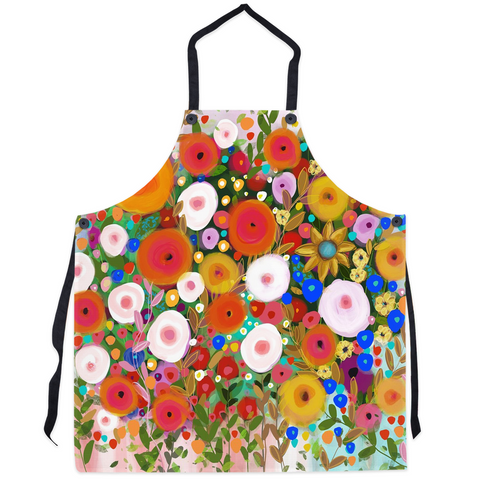 Happy Blooms Aprons