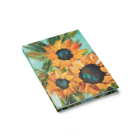 """Sunflower"" Journal - Ruled Line"