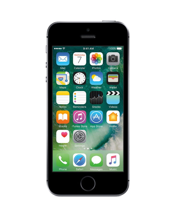IAG Certified Refurblished Apple iPhone SE Space Gray