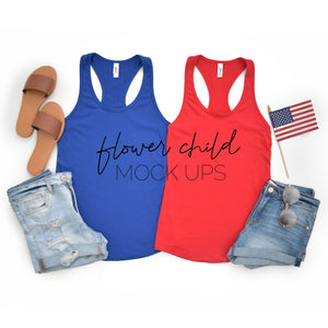 4th of July Next Level 1533 Mockup - flowerchildmockups